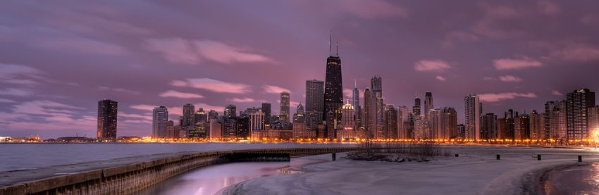 Photo Credit: Chicago Skyline at Sunrise by Dave Wilson, via Flickr